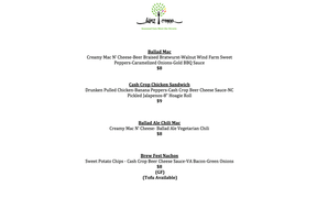 We will be at Ballad Brewery this afternoon serving up some delicious meals with Ballad's best ...