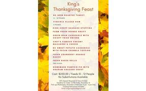 We are still taking Thanksgiving meal orders so email us and cross one more thing off your list ...