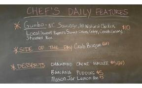 Warm up at King Cropp today with a cup of Crab Bisque or Gumbo for lunch, 11am-2pm