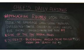 The Appalachian Reuben is back for our lunch special today 11am-2pm