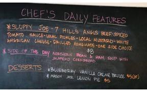 Chef's Sloppy Joe is back today
