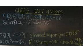 We have a NEW special for Tuesday nights dinner, so come see us
