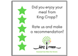 If you don't mind, give us a recommendation to help other people find us